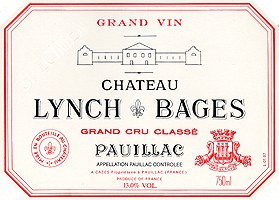 Chateau Lynch Bages Pauillac 2010 (750ml)