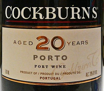 Cockburn's Tawny Porto 20 yr (500 ml)