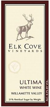 Elk Cove Ultima Dessert Wine 2008, 375 ml