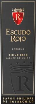 Escudo Rojo Origine 2018 750 ml