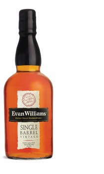 Evan Williams Single Barrel Vintage 2009 Bourbon Whiskey (750 ml)