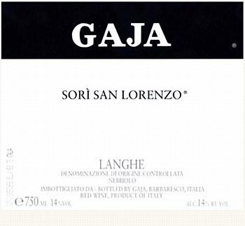 Gaja Sori Tilden 2009 (750 ml)