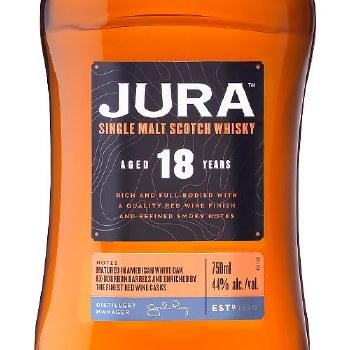 Jura 18 Year Single Malth Scotch Whiskey