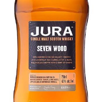 Jura Seven Wood Single Malt Whiskey 750 ml