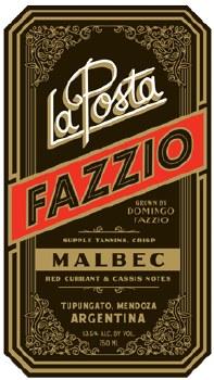 La Posta Fazzio Malbec 2018 750 ml