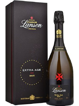Lanson Extra Age Brut Champagne (750 ml)