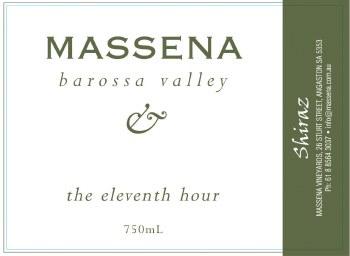 Massena The Eleventh Hour Shiraz 2005