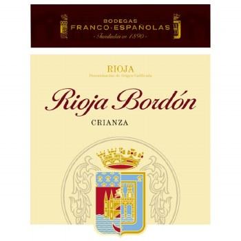 Bodegas Franco Espanolas Rioja Bordon Crianza 2016