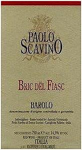 Paolo Scavino Bric del Fiasc Barolo 2012 750 ml