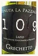 Tenuta La Pazzaglia 109 Grechetto 2016 (750 ml)