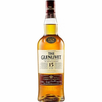 The Glenlivet 15 Year The French Oak Reserve Single Malt Scotch Whisky (750 ml)