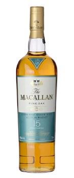 The Macallan 15 Year Fine Oak Single Malt Scotch Whisky (750 ml)