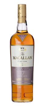 The Macallan 17 Year Fine Oak Single Malt Scotch Whisky (750 ml)