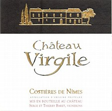 Chateau Virgile Costieres de Nimes Rouge 2013 (750 ml)
