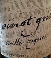 Domaine Gerard Metz Vielles Vignes Pinot Gris 2013 (750 ml)