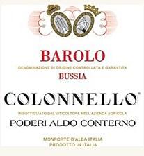 Aldo Conterno Colonnello Barolo 2008