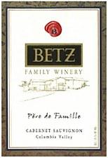Betz Family Vineyards Pere de Famille Cabernet Sauvignon 2010