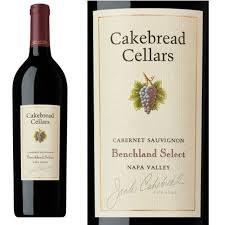 Cakebread Cellars Benchland Select Cabernet Sauvignon 2016 or 2017