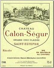 Chateau Calon Segur Saint Estephe 2005 (750 ml)