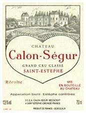 Chateau Calon-Segur Grand Cru Classe Saint-Estephe 2000 (750 ml)