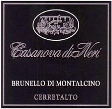 Casanova di Neri Cerretalto Brunello di Montalcino 2006