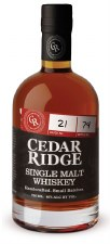 "Cedar Ridge ""Single Malt"" (750 ml)"