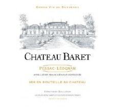 Pessac Leognan Chateau Baret 2015 750 ml