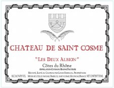 Chateau De Saint Cosme Les Deux Albion Cotes du Rhone 2015 750 ml