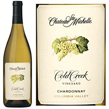 Chateau Ste Michelle Cold Creek Vineyard Chardonnay 2014