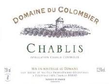 Domaine Du Colombier Chablis 2019 (750 ml)