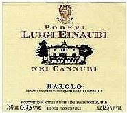 Poderi Luigi Einaudi Cannubi Barolo 2009 (750 ml)