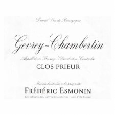 Frederic Esmonin Gevrey Chambertin Clos Prieur 2020