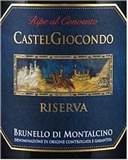 Frescobaldi Ripe al Convento di Castelgiocondo Brunello di Montalcino Riserva 2010 (750 ml)