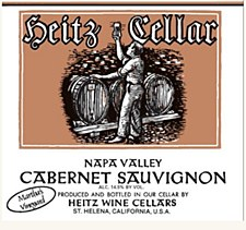 Heitz Wine Cellars Martha's Vineyard Cabernet Sauvignon 2010