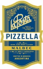 La Posta Pizzella Malbec 2017 750 ml