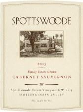 Spottswoode Cabernet Sauvignon 2015 (750 ml)