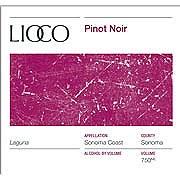 Lioco Laguna Sonoma Coast Pinot Noir 2013