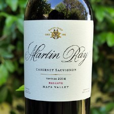 Martin Ray Reserve Cabernet 2014 (750 ml)