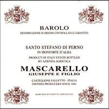 Mascarello Giuseppe Perno Vigna Barolo 2012