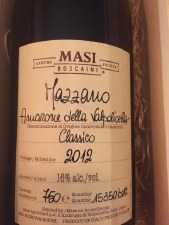 Masi Mazzano Amarone Classico 2012 750 ml