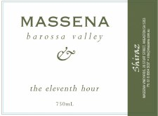 Massena The Eleventh Hour Shiraz 2005