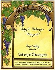 Nickel & Nickel John C. Sullenger Vineyard Cabernet Sauvignon 2012 (750 ml)