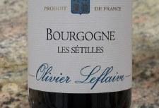 Olivier Leflaive Bourgogne Les Setilles 2018