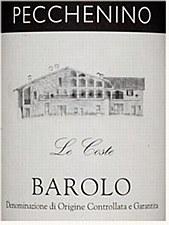Pecchenino Le Coste Barolo 2009 (750 ml)