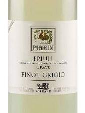Pighin Pinot Grigio  2019        750 ml