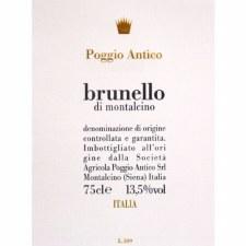 Poggio Antico Brunello di Montalcino 2015 750 ml