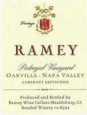 Ramey Pedregal Vineyard Oakville Cabernet Sauvignon 2012 (750 ml)