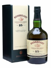 Redbreast 15 Year Single Pot Still Irish Whiskey (750 ml)