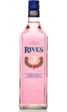Rives Pink Spanish Strawberry Gin 750 ml