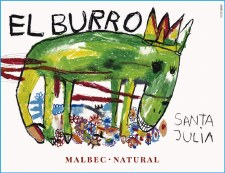 Santa Julia El Burro Organic Malbec